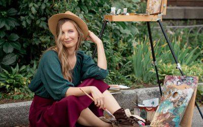The Illustrator — Naya Lazareva